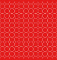 seamless pattern white circle vector image vector image