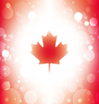 Canada background abstract canadian flag vector image vector image