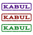 kabul watermark stamp vector image