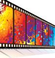 rainbow design vector image vector image
