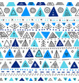seamless pattern with ethnic tribal boho trendy vector image vector image