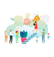social and business situations vector image
