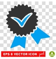 Validation Seal Eps Icon vector image vector image