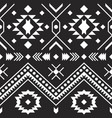 aztec tribal pattern geometric design vector image