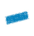 empty stamp texture vector image