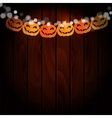 Halloween greeting card invitation Party vector image vector image