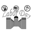 Labor Day in the United States of America vector image vector image