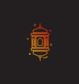 mandala icon design vector image vector image