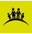 members of the family design vector image vector image