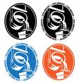 steel industry logo vector image