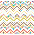 abstract zigzag pattern for a cover design vector image vector image