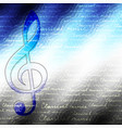 classical music backhround vector image