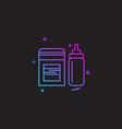 feeder icon design vector image