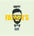 happy fathers day poster or banner 18 june vector image