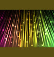 sparkling light speed abstract background vector image vector image
