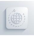modern tourism light icon vector image