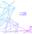 abstract background for design technology and vector image vector image