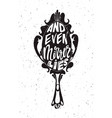 and even mirror lies lettering poster t-shirt vector image vector image