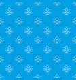 bakery fresh pattern seamless blue vector image vector image