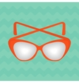 bright summer sunglasses vector image vector image