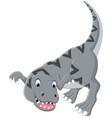 cartoon tyrannosaurus vector image