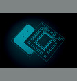 central processing unit and integrated vector image vector image