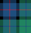 flower of scotland tartan seamless pattern fabric vector image vector image