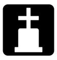Gravestone vector image vector image