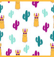 pattern with llama vector image