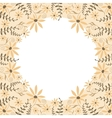 peach flowerbackground vector image vector image
