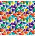 Seamless vivid swirl pattern vector image vector image