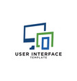 User interface device template