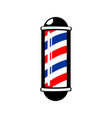barbers pole stripes vector image