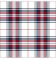 blue red white tartan plaid scottish pattern vector image vector image