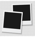 Old Fashion Photo Frames Template for your vector image vector image