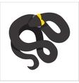 Snake reptile cartoon vector image