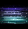 speed laser sparkling technology background vector image
