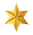 star icon cartoon vector image vector image