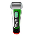 the hairclipper icon shaver symbol flat vector image vector image