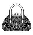 Ornate Women Bag vector image