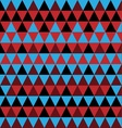 simple triangle pattern vector image