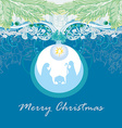 Christian Christmas nativity scene of baby Jesus vector image vector image