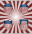 collection of 4th of july banners vector image vector image