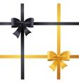 Luxury Bows and Ribbons Set vector image vector image