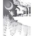 pegasus fairytale character vector image