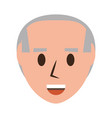 retro old man cartoon vector image