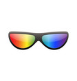 sunglasses multicolor 3d summer sunglass shade vector image vector image