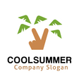 Cool Summer Design vector image