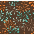 hand drawn flowers seamless vector image