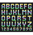 Colorful Alphabet Set vector image